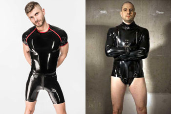 Rub Addiction offers latex fashion and heavy rubber items