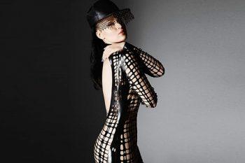 Sasha Louise latex modelled by Viktoria Modesta