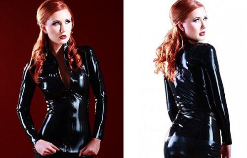 Skin Two Mistress Latex Jacket