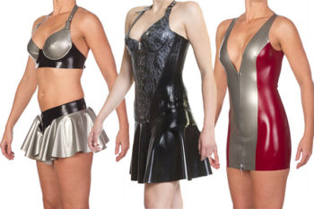 Xarina latex available from Wow Partykleding