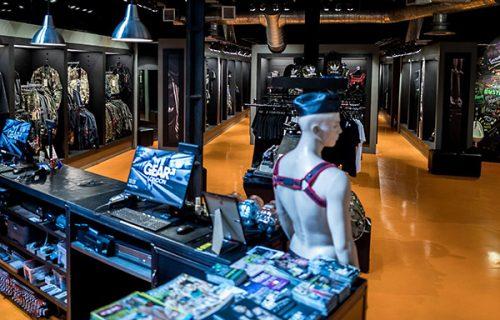 Gear London store interior