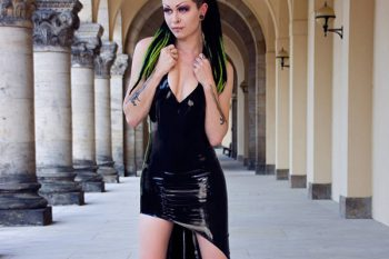 LatexLux modelled by K.haos Queen. Photo Mia L