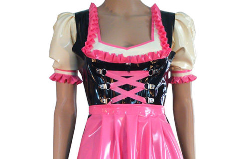 Latexaura Dirndle Costume