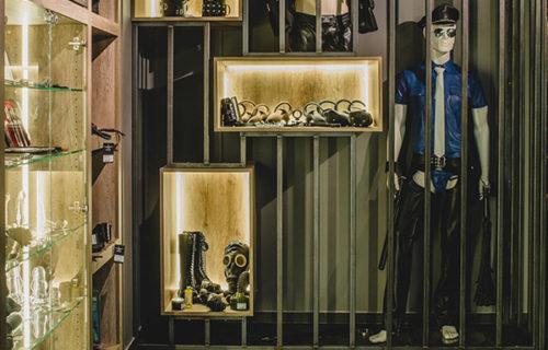 Mister B Antwerp shop interior detail