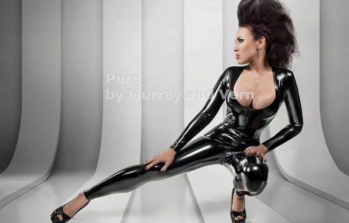 Pure by Murray and Vern catsuit at Miss-Rubb eBay store
