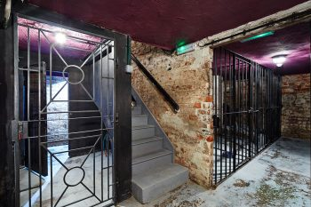 The cells at Townhouse Dungeons, which hosts monthly Radical Desire nights