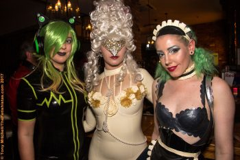 Rubber Cult's final party: October 2018's Masquerade Birthday Ball. Photo: Tony Mitchell