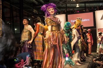 Avantgardista Weekend: ExxEss Latex fashion show, 2017