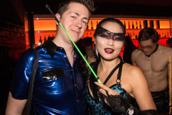 Torture Garden Not New Year's Eve at Ministry of Sound: Vincent and Amrita photo by Tony Mitchell
