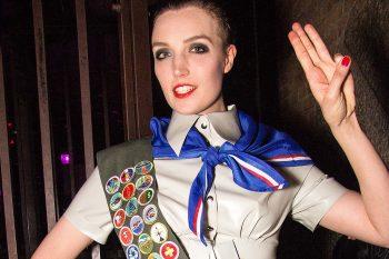 DutchDame performs at Boudoir Bizarre XXIX. Photo: Tony Mitchell
