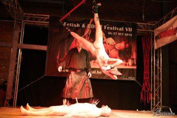 Fetish & BDSM Festival in Dendermonde. Photo: P Couturier