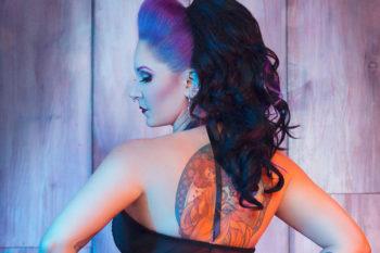Fetish Factory Halloween Fetish Ball 2019 MC Morgan La Rue. Photo: Alexa Luxe