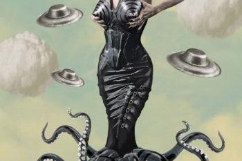 Torture Garden Halloween 2: B-Movie. Promo illustration: Monsieur Ighorium