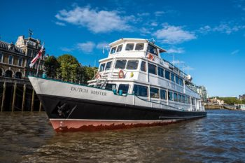 Torture Garden Ghost Ship boat party takes place about Dutch Master