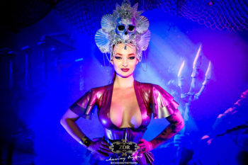 Zara DuRose co-hosts LFW 2019 Dollhouse Ball. Photo: Chasing Tigers