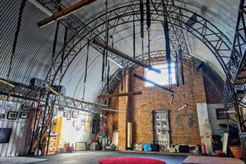 Interior of London's Anatomie Studio