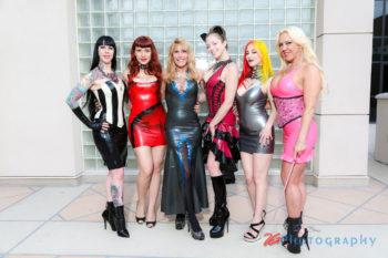 Ladies of DomCon LA 2018. Photo: 2G Photography