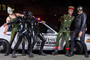 Sin City Military Fetish Ball