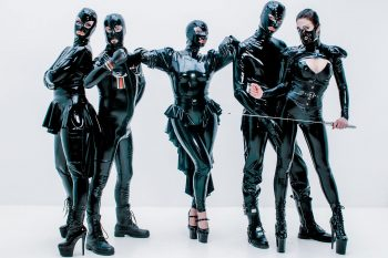 New Amsterdam party The Rubber Bunch, hosted by Irresistible Iris (centre), is at Akhnaton in September 2021